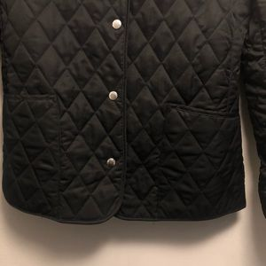 Burberry Jackets & Coats - Burberry quilted snap button jacket Large